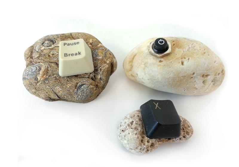 Stone keys